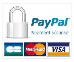 paiement paypal 100{c431b55d7872b22efe0b98c97b179fcedc8d04f61ae4055ccb696c21e7e00e3e} sécurisé